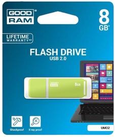 GoodRam UMO2 8GB USB 2.0 Green