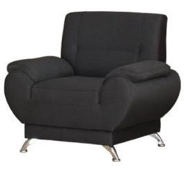 Kanclers Livonia Armchair Fabric Dark Gray