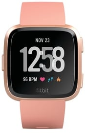 Išmanusis laikrodis Fitbit Versa Peach / Rose Gold Aluminum
