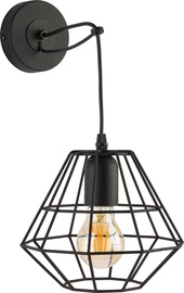 Sieninis šviestuvas TK Lighting Diamond 2183, 60W, E27