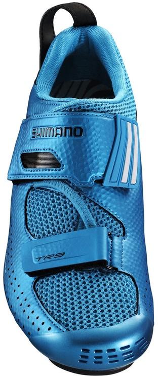 Велосипедная обувь Shimano Road SH-TR900, синий, 44