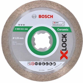 Bosch 2608615164 Ceramic Diamond Cutting Disc 125x22.23mm