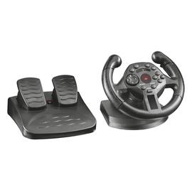 Žaidimų vairas su pedalais Trust Kengo GXT 570, PC, PS3