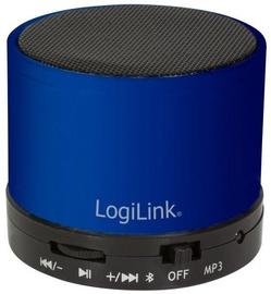 Belaidė kolonėlė LogiLink SP0051 Bluetooth, mėlyna