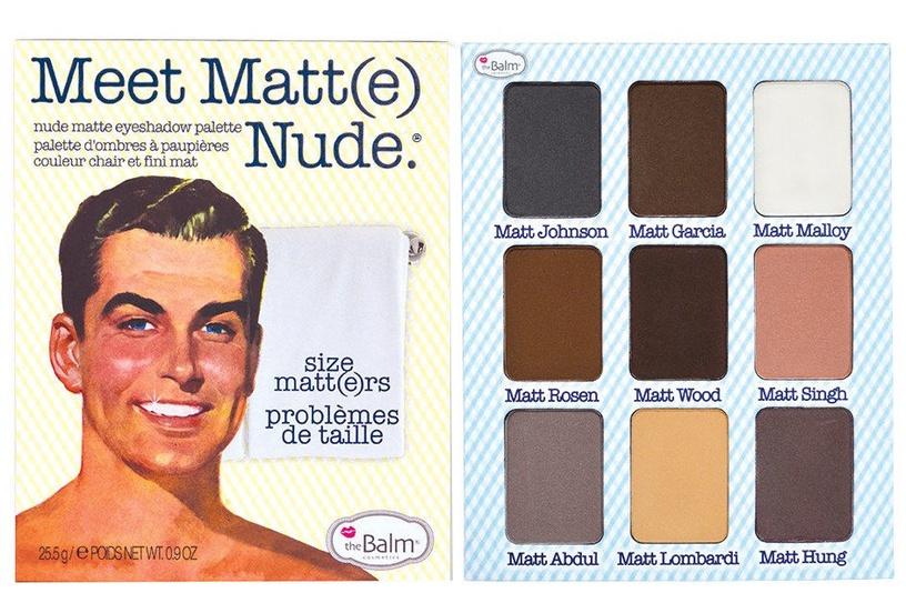 TheBalm Meet Matt(e) Nude Eyeshadow Palette 25.5g