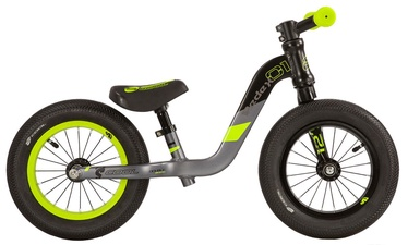 "Balansinis dviratis Scool PedeX1 12"" Black Yellow"