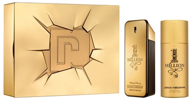 Paco Rabanne 1 Million 100ml EDT + 150ml Deodorant 2018