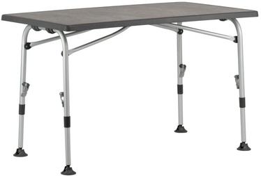 Kempinga galds Westfield Performance Superb 115, pelēka, 115 x 70 x 72 cm