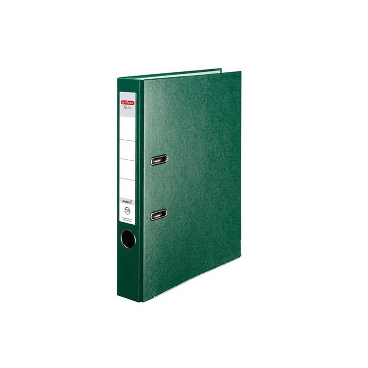 Rõngaskaaned Herlitz, A4 5 cm, roheline