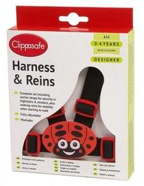 Clippasafe Harness & Reins Ladybug CL031