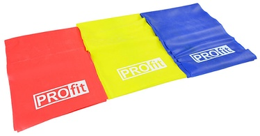 PROfit Fitness Rubber Set 200x15cm 3pcs