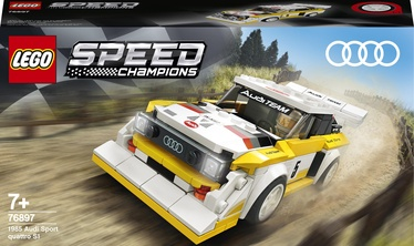 Konstruktor LEGO® Speed Champions 1985 Audi Sport quattro S1 76897, 250 tk
