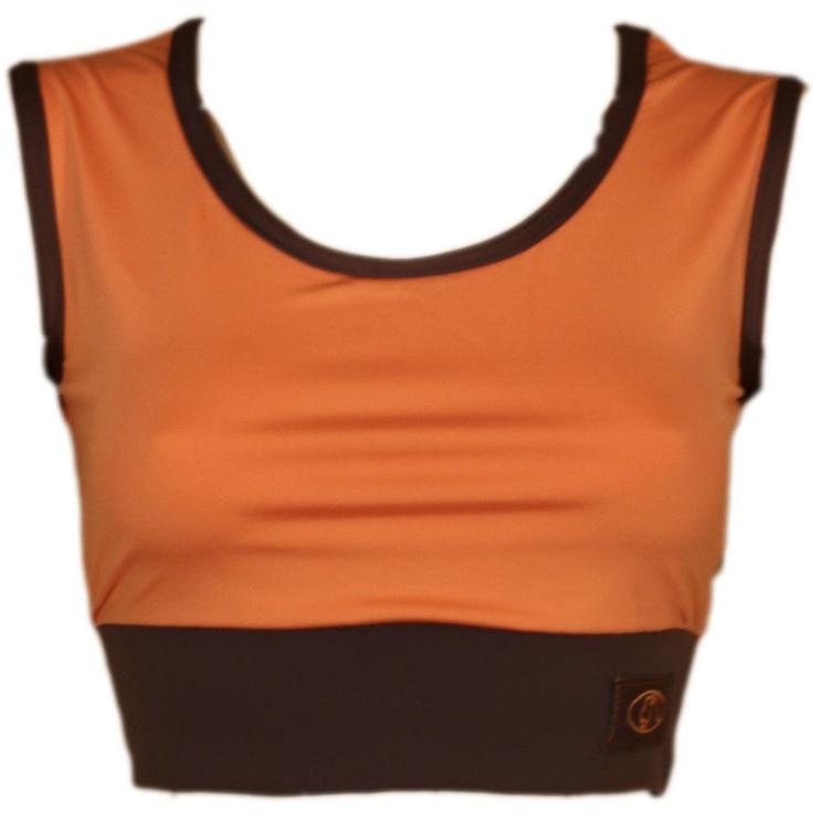 Майка без рукавов Bars Womens Top Brown/Orange 113 L