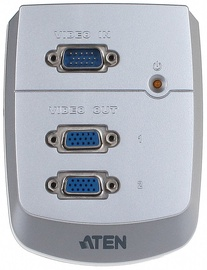 Aten Video Splitter 2-Port Wall Plate VS82-AT-G