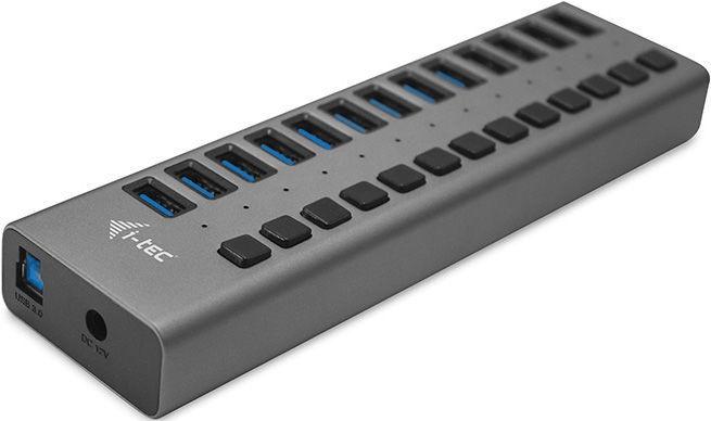 i-Tec USB 3.0 13-Port Hub + Power Adapter 60W