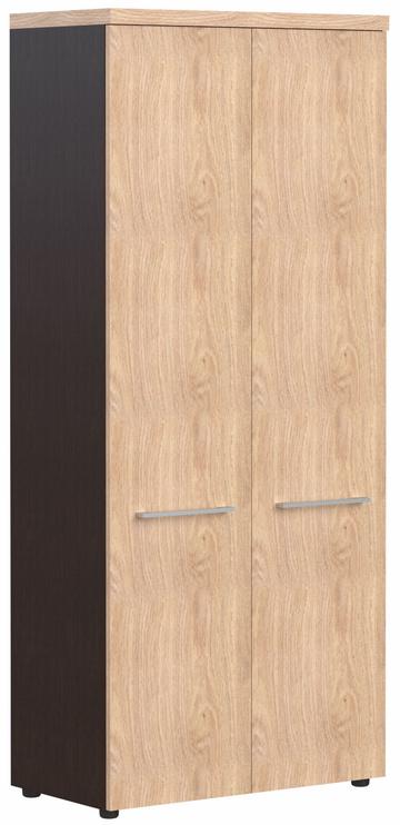 Skyland Alto ACW 85 Wardrobe 85x193x43cm Oak Devon/Wenge Magic