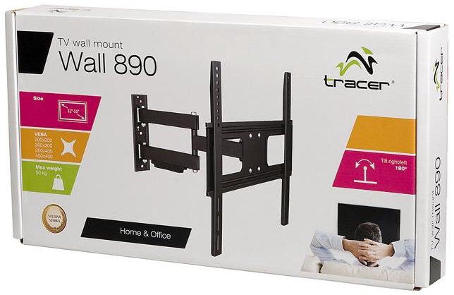 """Televizoriaus laikiklis Tracer Wall Mount For TV 50 Kg 32-55"""""""
