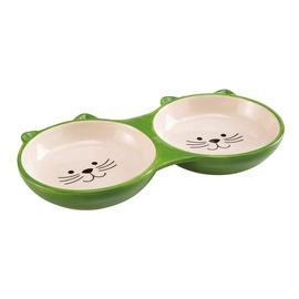 Dubenėlis katėms Ferplast, dvigubas, 23 ml