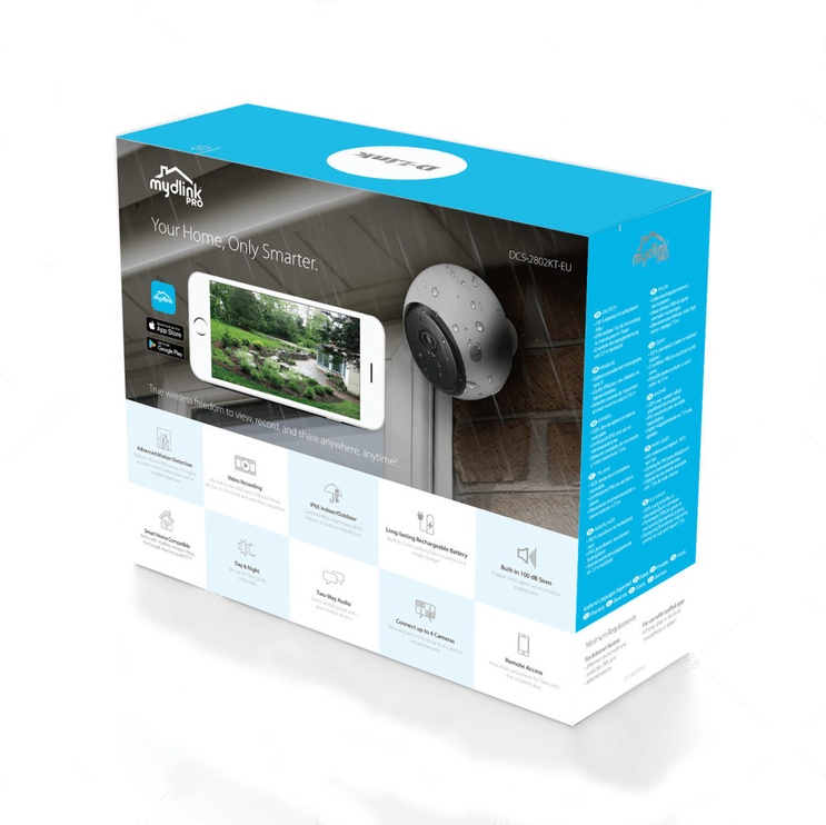 D-Link mydlink Pro Wire-Free Camera Kit