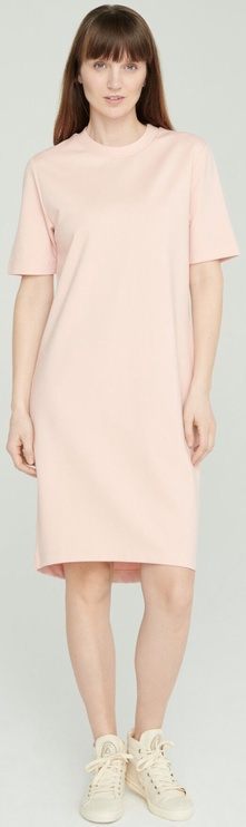 Audimas Stretch Short Sleeves Dress Pink L