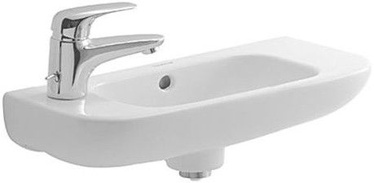 Duravit D-Code 500x220mm Washbasin Left White