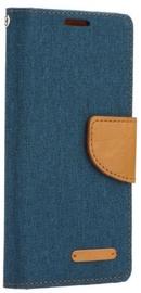 Mocco Canvas Book Case For Samsung Galaxy A8 A530 Blue