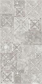Keraminės dekoruotos sienų plytelės Amalfi Grey, 60x30 cm