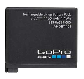 GoPro AHDBT-401 Rechargeable Battery Hero4