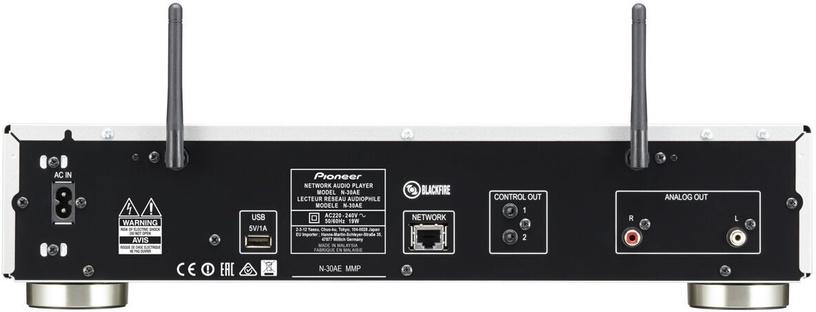 Pioneer N-30AE Network Player Silver