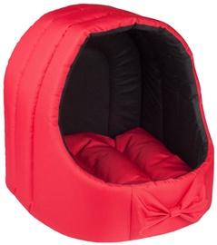 Amiplay Basic Oval Dog House M 40x40x42cm Red