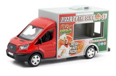 Детская машинка RMZ City Ford transite, белый/красный