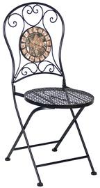 Saliekams krēsls Home4you Mosaic Metallic 38666