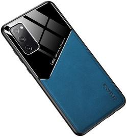 Чехол Mocco Lens Leather Back Case Samsung Galaxy A21s, синий/черный