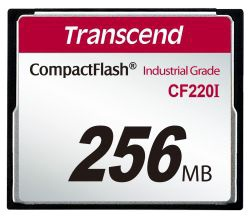 Transcend 256MB Industrial Temp CF220I CF Card
