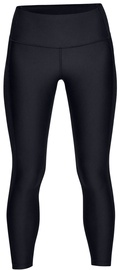 Under Armour HeatGear Ankle Crop Branded Leggings 1329151-001 Black L