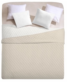 DecoKing Axel Bedcover Beige/White 200x220