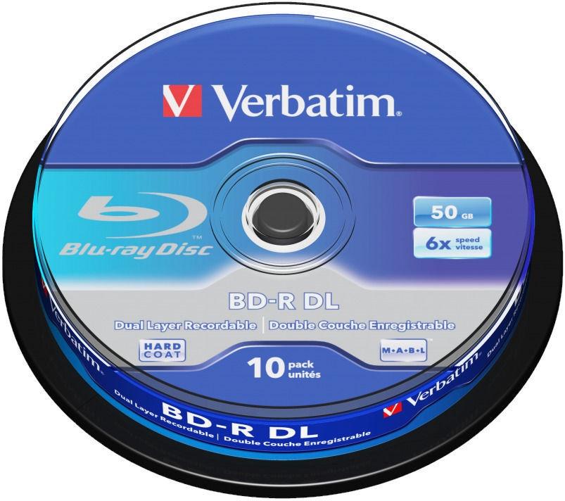 Накопитель данных Verbatim, 50 GB