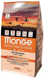 Сухой корм для собак Monge Grain Free Adult with Duck and Potatoes, 12 кг
