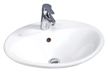 Gustavsberg Bathroom Sink Nautic White 55x44x16cm