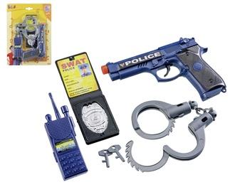 Vaidmenų žaidimas Happy People Play Police Set