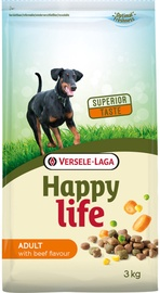 Versele-Laga Happy Life Adult Beef Flavour 3kg