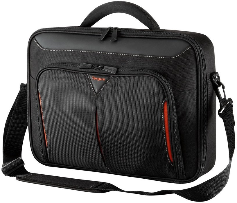 Targus Classic+ Clamshell Laptop Bag 17-18 Black/Red