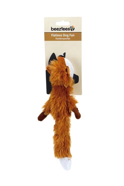 Žaislas šunims pliušinė lapė, Beeztees, 25 cm