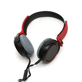 Ausinės Freestyle FH0014R Universal Stereo Headphones Red