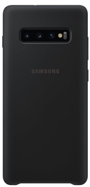 Samsung Silicone Back Case For Samsung Galaxy S10 Plus Black