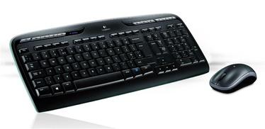Belaidė klaviatūra ir pelė Logitech MK330