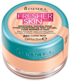 Rimmel London Fresher Skin Foundation SPF15 25ml 201