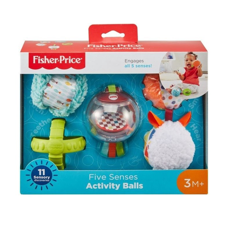 Fisher Price Five Senses Activity Balls FXC32
