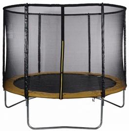 Tesoro Garden Trampoline 312cm Net/Ladder Yellow