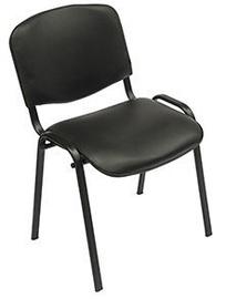 Apmeklētāju krēsls Verners Iso Black 557110, 1 gab.